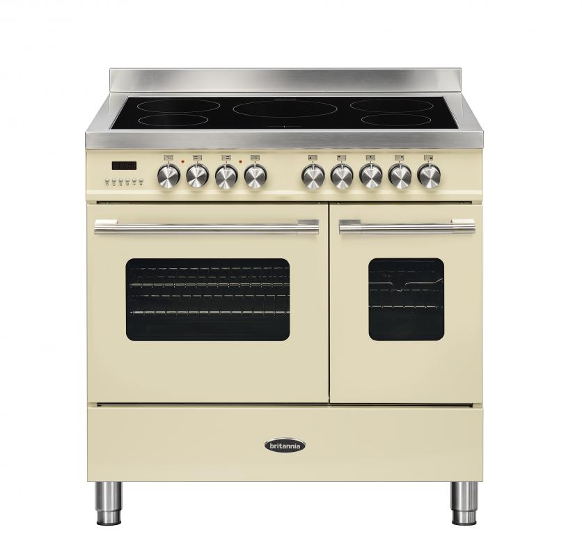 Britannia 544440751 Delphi 90cm Induction Range Cooker - Cream