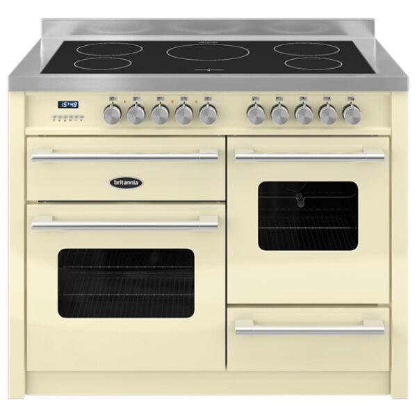Britannia 544440372 Delphi 110cm Induction Range Cooker - Cream