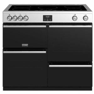 Stoves 444410758 Precision Deluxe 100cm Electric Induction Range Cooker - Stainless Steel