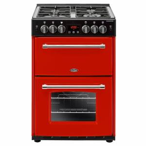 Belling 444444718 60cm Gas Double Oven Freestanding Cooker