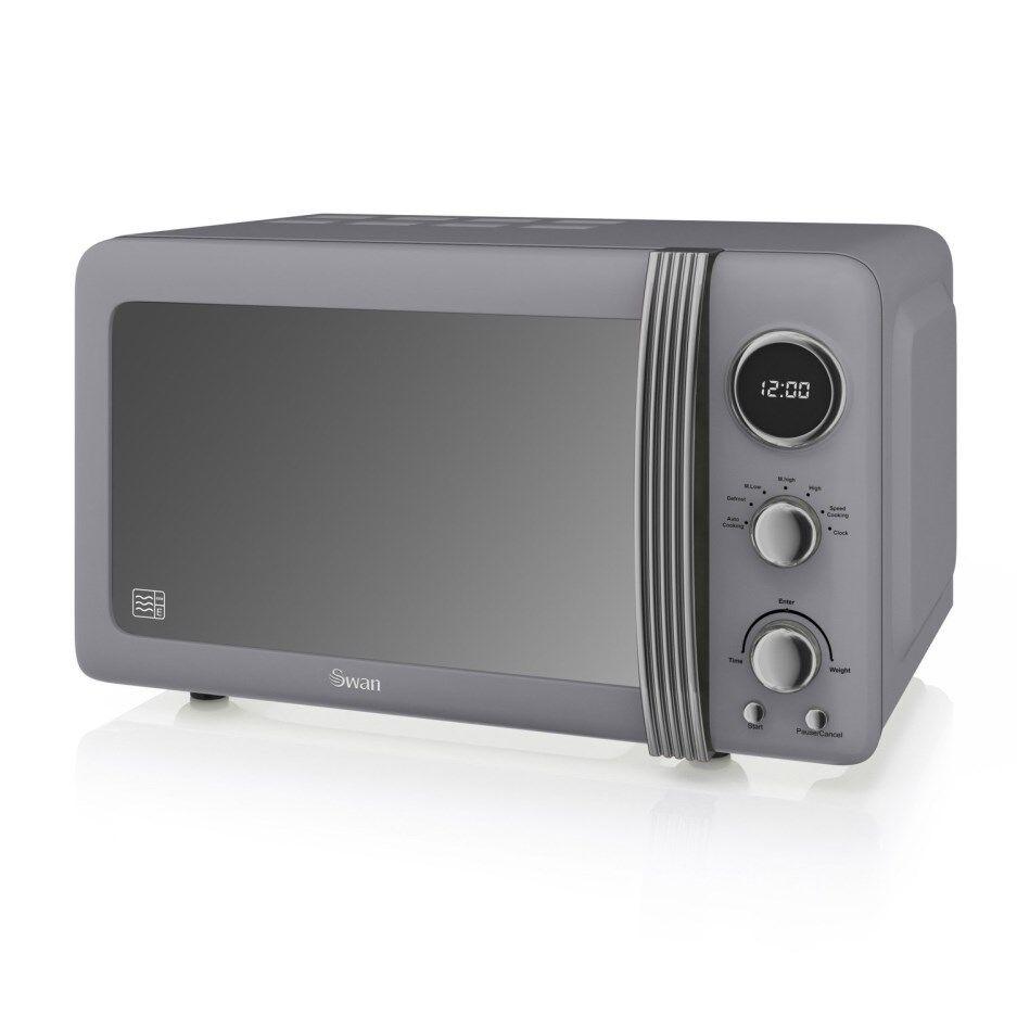 Swan SM22030GRN Microwave - Grey