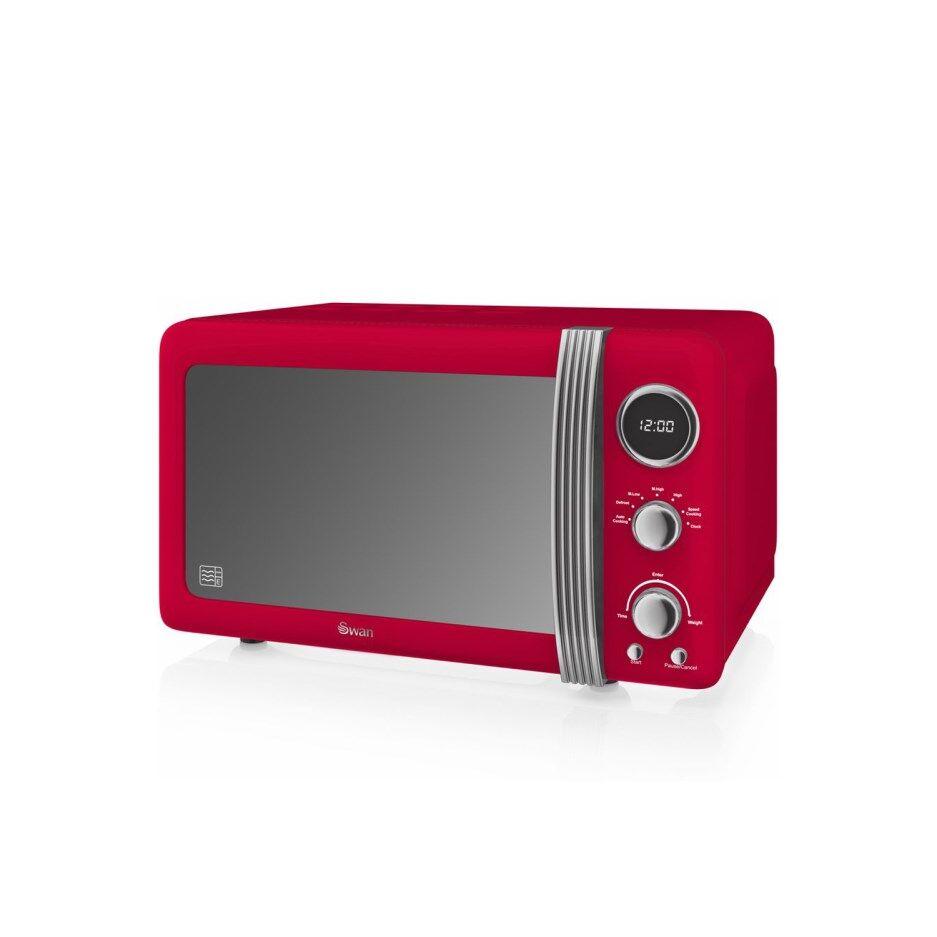 Swan SM22030RN Microwave - Red