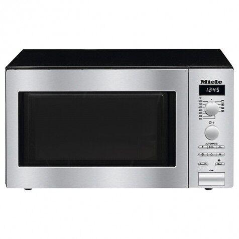 Miele M6012 Microwave - Clean Steel