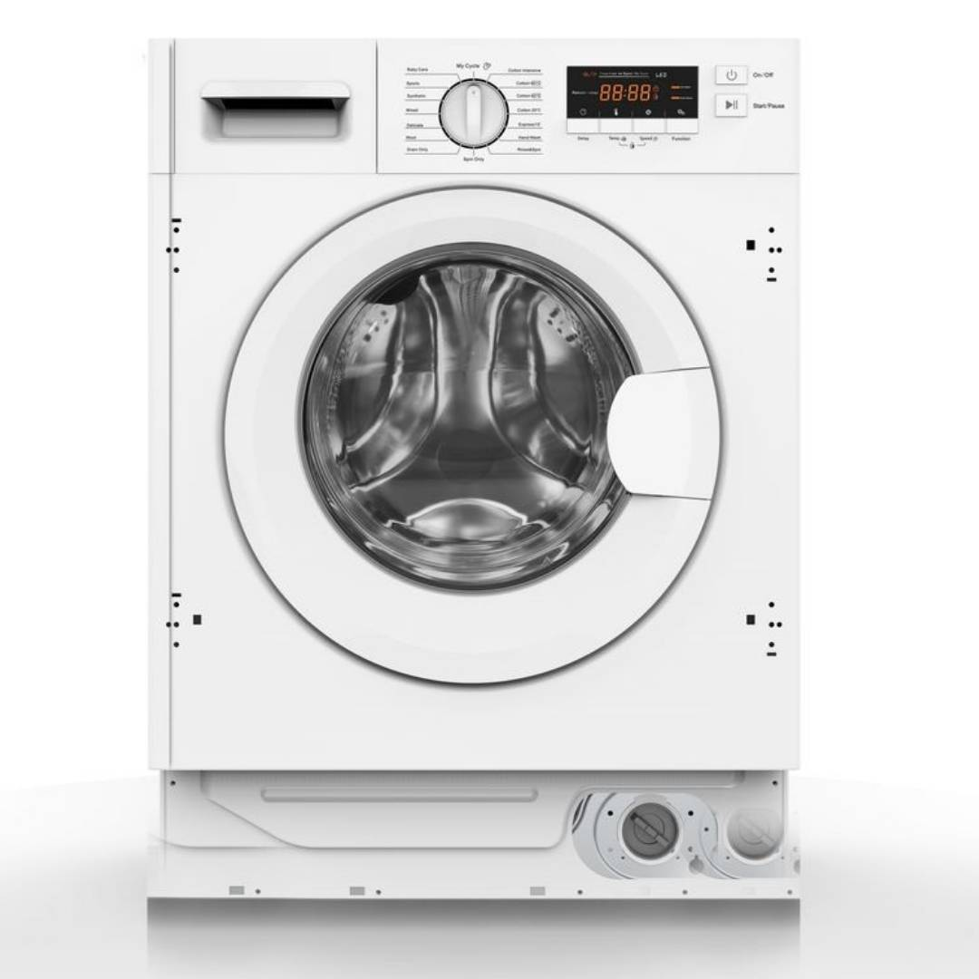 Belling INTWM7KG 7kg 1400 Spin Integrated Washing Machine