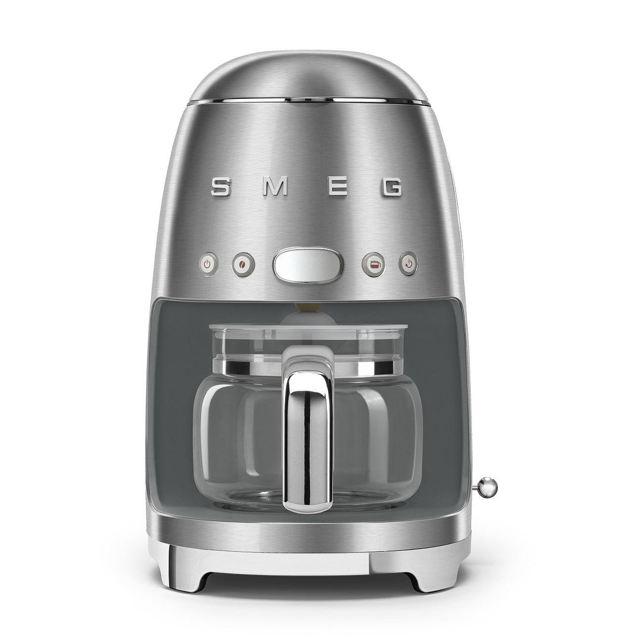 Smeg DCF02SSUK 50's Retro Style Drip Filter Coffee Machine