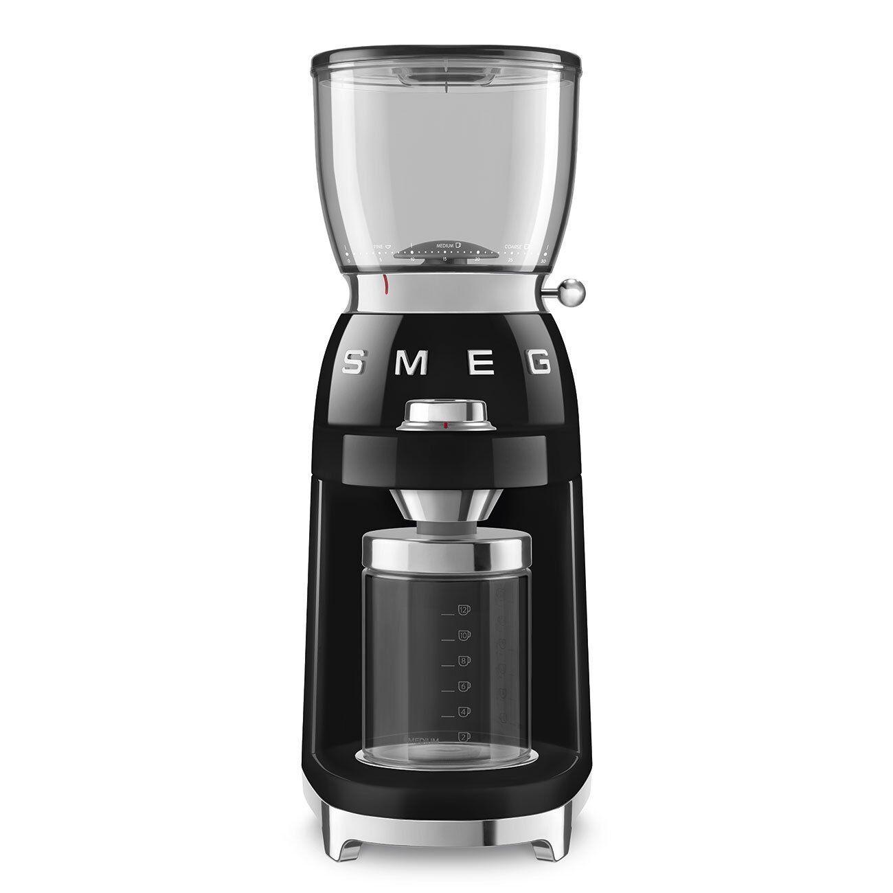 Smeg CGF01BLUK Coffee Grinder - Black