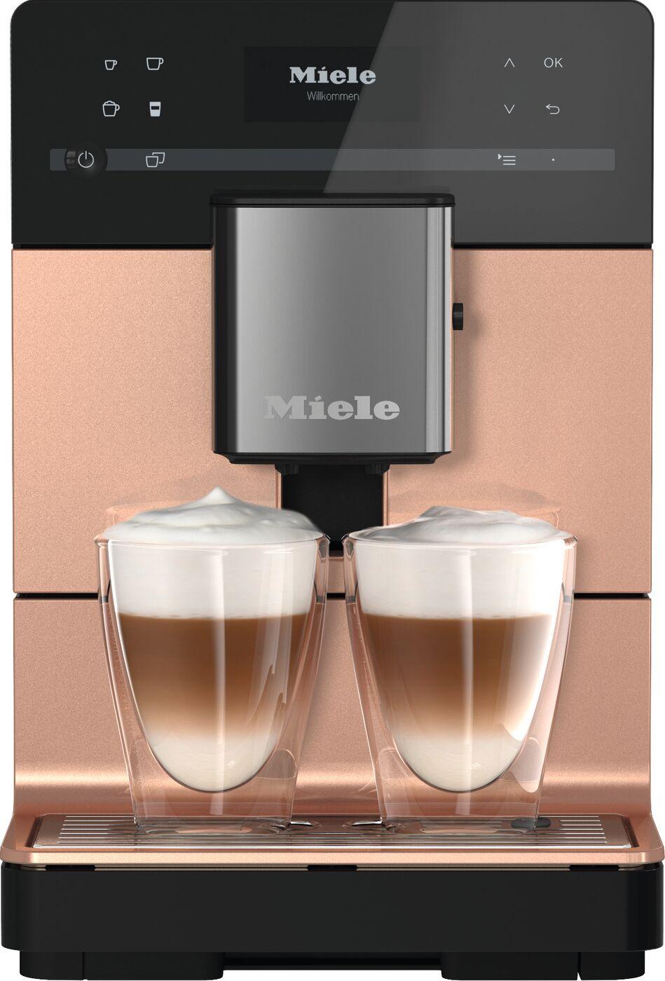 Miele CM5510 Coffee Machine - Rose Gold