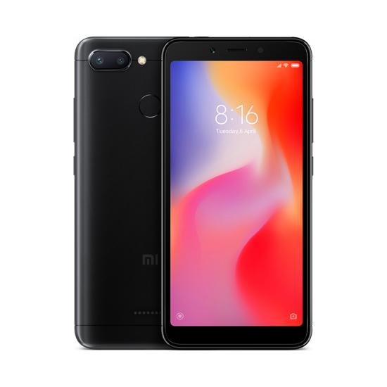 Xiaomi Redmi 6 SIM Unlocked (Brand New), Black / 64GB