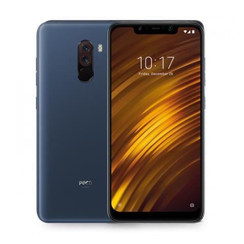 Xiaomi Pocophone F1 SIM Unlocked (Brand New), Blue Steel / 64GB