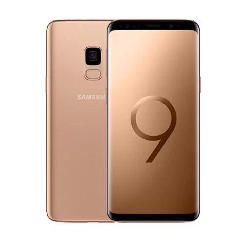 Samsung Galaxy S9 SIM Unlocked (Brand New), Maple Gold / 64GB