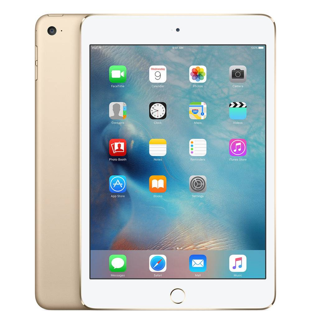 Apple iPad Mini 4 WiFi Model (Brand New), Gold / 128GB