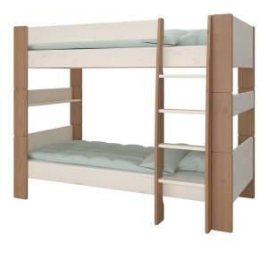 Kids Bunk Bed   Two Tone   Self Assembly