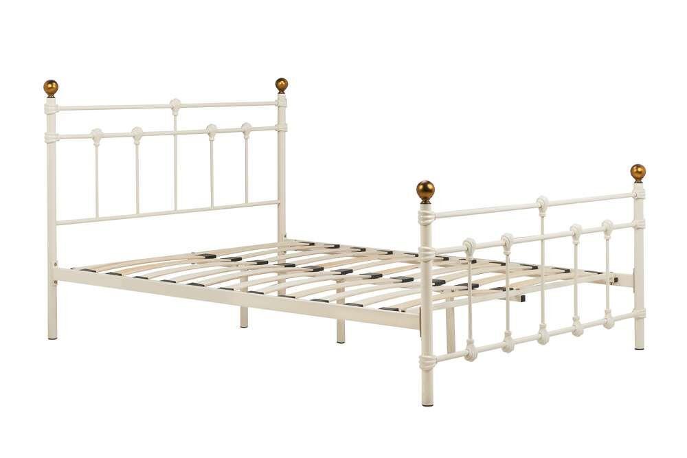 Altai Small Double Bed   Cream