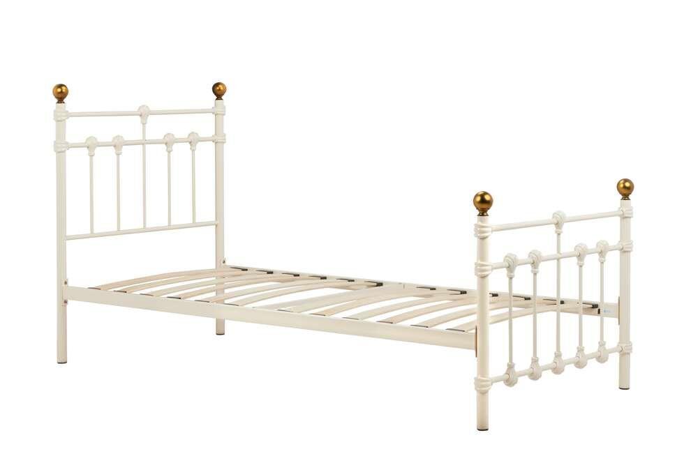Altai Single Bed   Cream