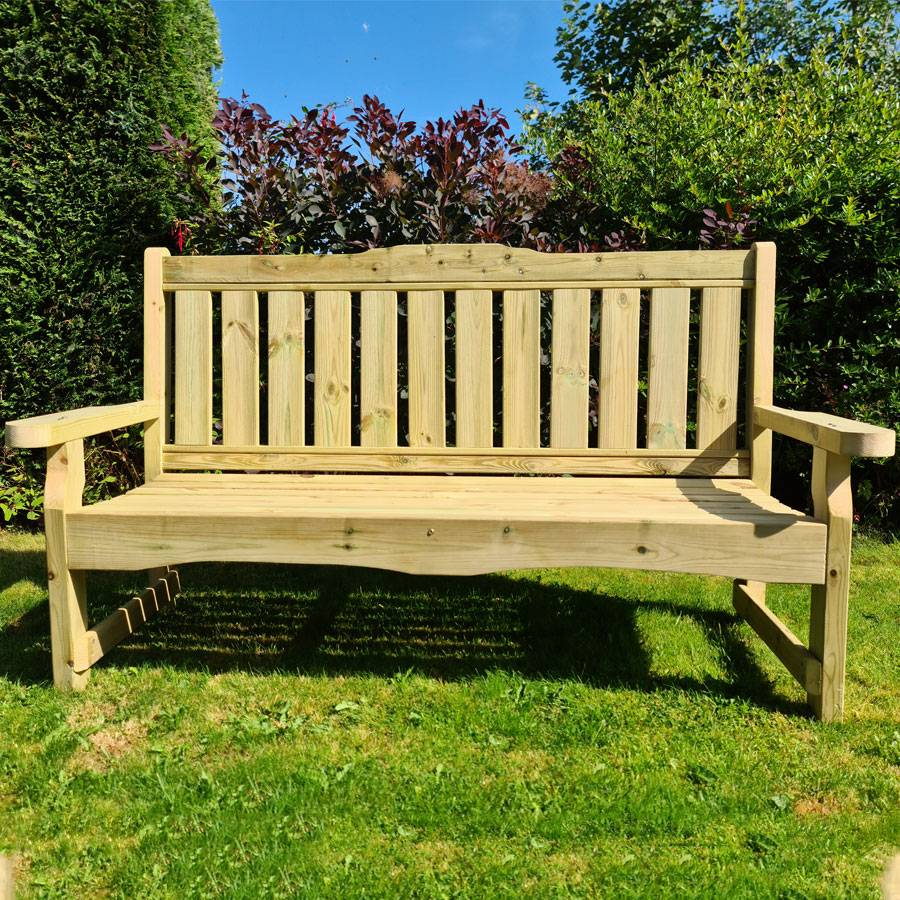 Timber Garden Furniture Outdoor 2 Seat Bench