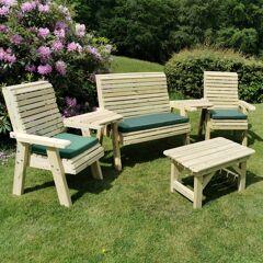 Timber Garden Furniture Timber Ergo Multi Garden Seating Set