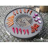 Outdoor Cooking Cook King    Grill Plate with Grate