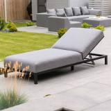 Sunny Outdoor Fabric Lounger