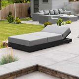 Sun Sense Outdoor Fabric Sun Lounger
