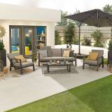 Enna Outdoor 3 Seat Sofa Set   Grey