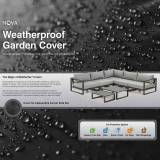 Outdoor Furniture Covers Cover for Alessandria Corner Sofa Set