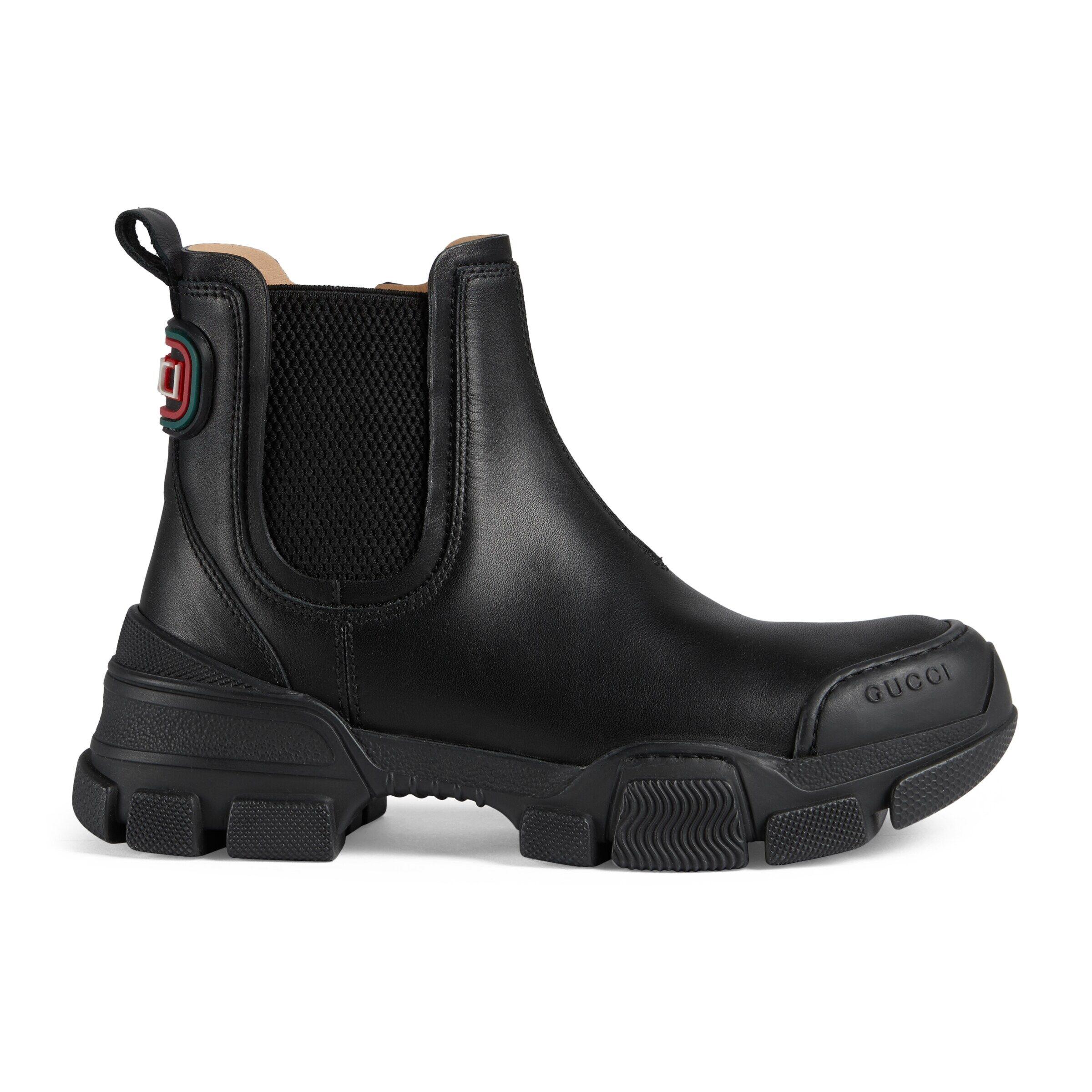 Gucci Children's ankle boot  - Black