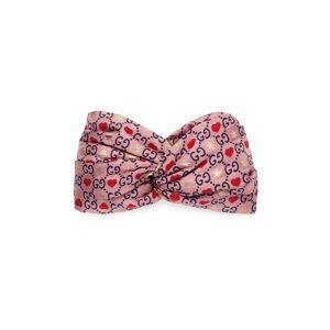 Gucci Silk headband  - Pink - Size: Medium