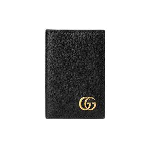 Gucci GG Marmont card case  - Black - Size: U