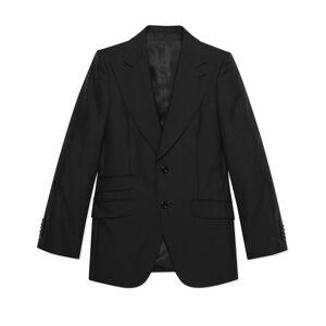 Wool mohair jacket  - Black - Size: 44,46,48,50,52,54