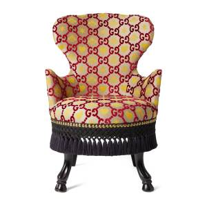 Gucci GG jacquard armchair  - Undefined