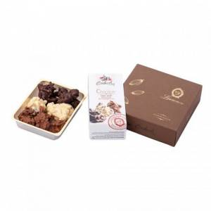 """Laurence Chocolate candies with almonds and cranberries Laurence """"Golden Choco Bites"""", 140 g"""
