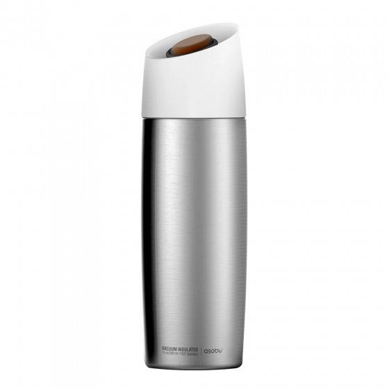 "Asobu Thermo bottle Asobu ""5th Avenue Silver"", 390 ml"