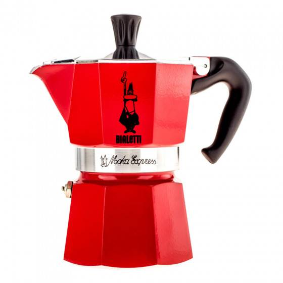 "Bialetti Coffee maker Bialetti ""Moka Express 3-cup Red"""