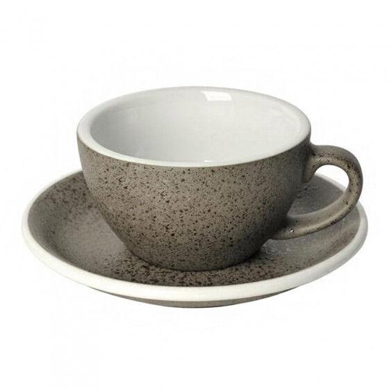 "Loveramics Cappuccino cup with a saucer Loveramics ""Egg Granite"", 200 ml"