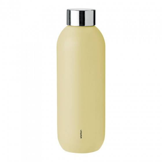 "Stelton Water bottle Stelton ""Keep Cool Soft Yellow"", 0,6 l"