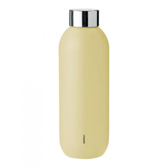 """Stelton Water bottle Stelton """"Keep Cool Soft Yellow"""", 0,6 l"""