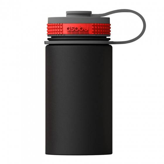 "Asobu Thermo bottle Asobu ""Mini Hiker Black"", 355 ml"