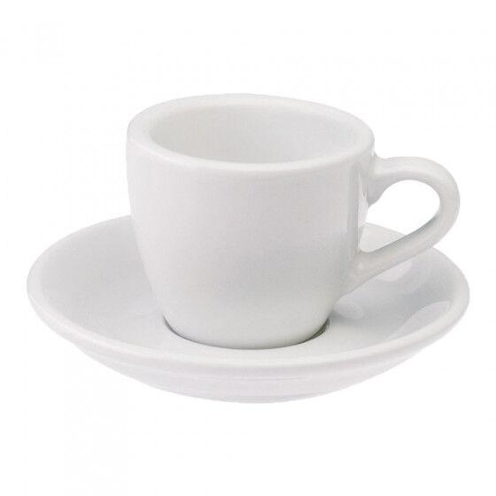 "Loveramics Espresso cup with a saucer Loveramics ""Egg White"", 80 ml"