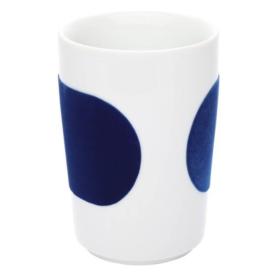 "Kahla Cup Kahla ""Five Senses touch! Dark Blue"", 350 ml"