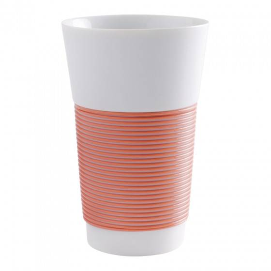"""Kahla Coffee cup Kahla """"Cupit to-go Coral Sunset"""", 470 ml"""