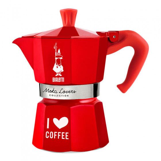 """Bialetti Coffee maker Bialetti """"Moka Lovers 3-cup Red"""""""