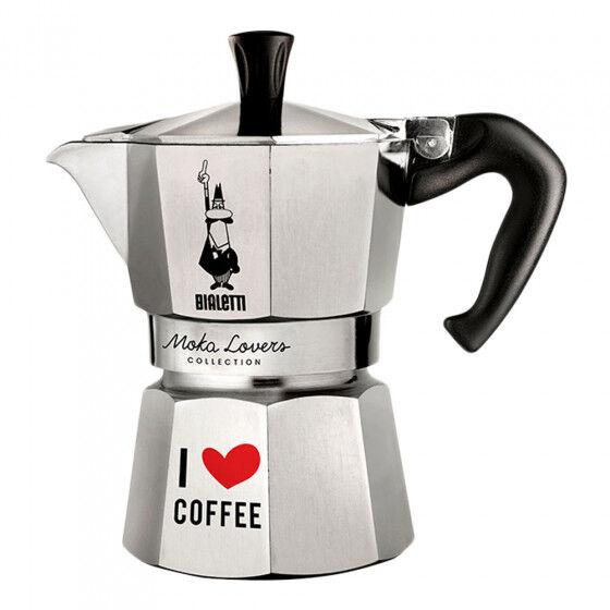 "Bialetti Coffee maker Bialetti ""Moka Lovers 3-cup Aluminium"""
