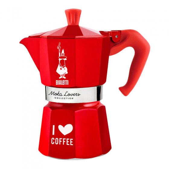 """Bialetti Coffee maker Bialetti """"Moka Lovers 6-cup Red"""""""