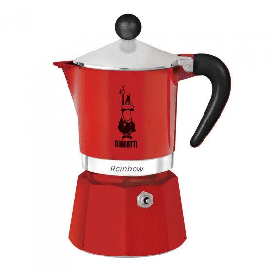 "Bialetti Coffee maker Bialetti ""Moka Rainbow 6-cup Red"""