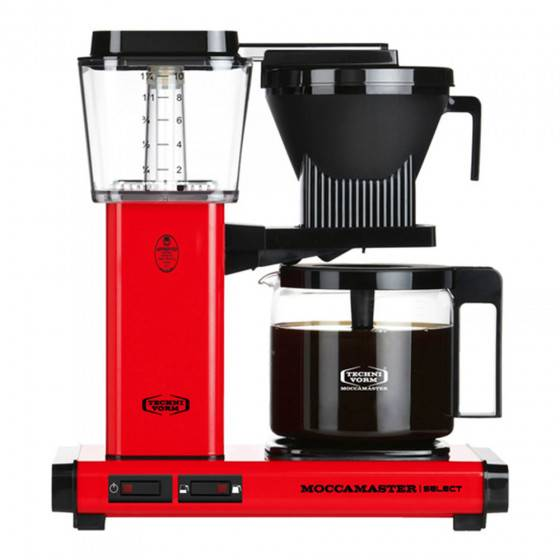 "Moccamaster Filter coffee maker Technivorm ""KBG 741 Select Red"""