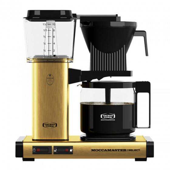 "Moccamaster Filter coffee maker Moccamaster ""KBG 741 Select Brushed Brass"""