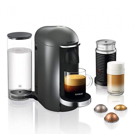 "Nespresso Coffee machine Nespresso ""VertuoPlus XN902T40 + Aeroccino"""