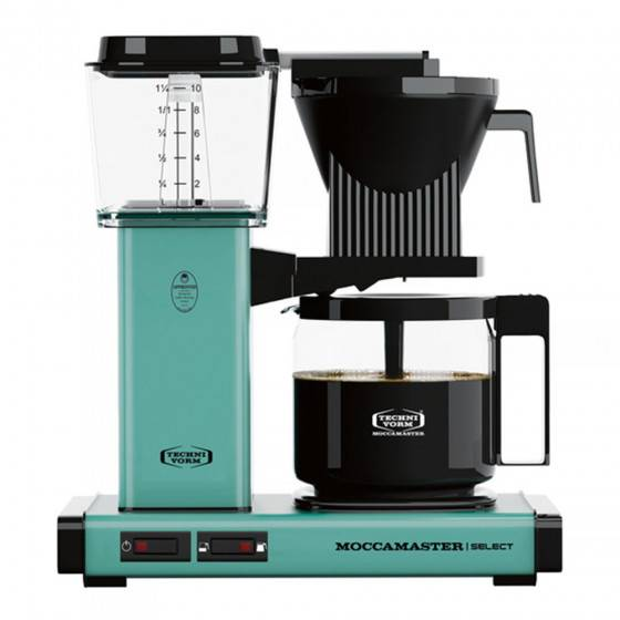 "Moccamaster Filter coffee maker Technivorm ""KBG 741 Select Turquoise"""