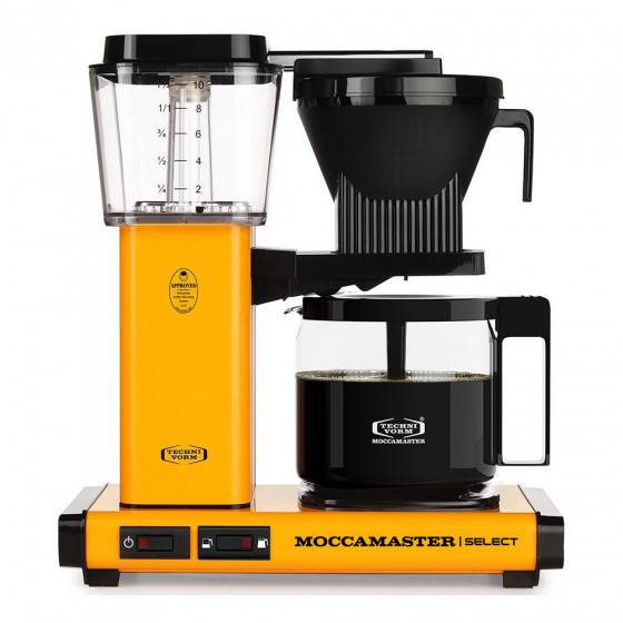 "Moccamaster Filter coffee maker Moccamaster ""KBG 741 Select Yellow Pepper"""