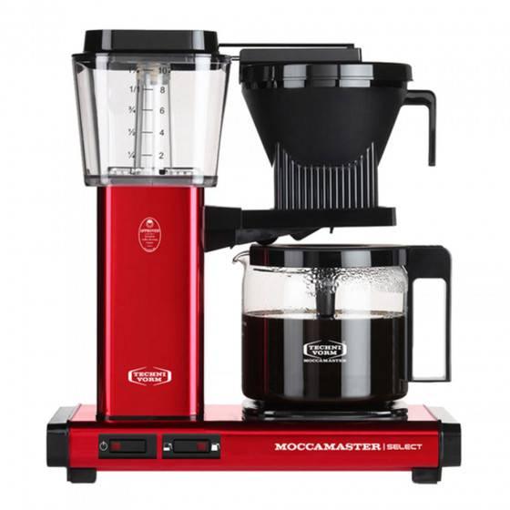 "Moccamaster Filter coffee maker Technivorm ""KBG 741 Select Metallic Red"""